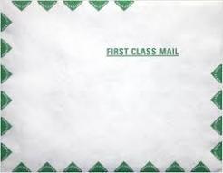Tyvek First Class Border Envelopes