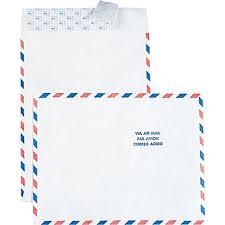 Tyvek Air Mail Border Envelopes