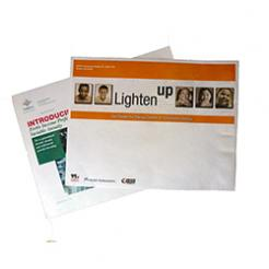 Tyvek® envelopes can be printed 4 color or full color process