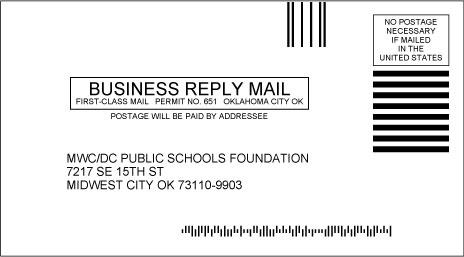 6 3 4 Business Reply Mail Envelopes Easy Envelopes